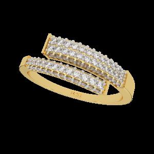 Light It Up Gold Diamond Ring