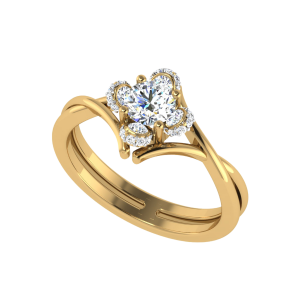 The Jewel Bouquet Solitaire Ring