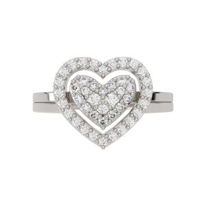 Your Heart Is Here Diamond Ring