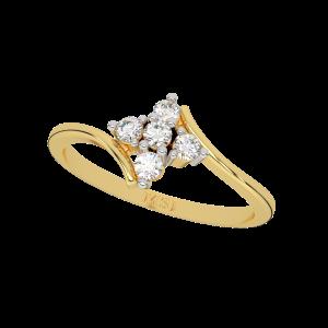 The Beflowers Diamond Ring