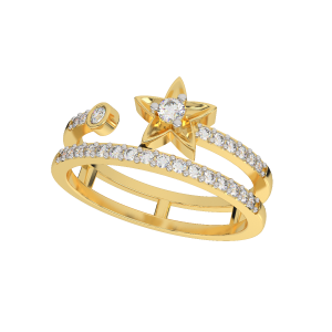 The Star Tail Diamond Ring