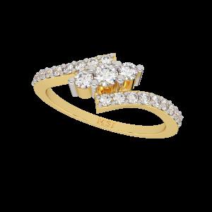 The Sleek Bling Diamond Ring