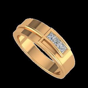 The Show Window Couple Band Diamond Ring