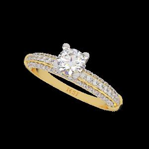 The Astute Gold Diamond Ring