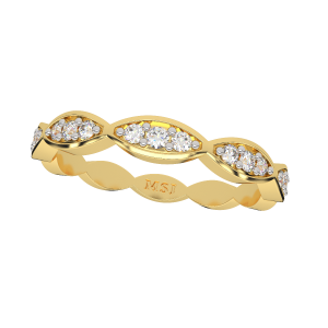 The Play Band Gold Diamond Ring