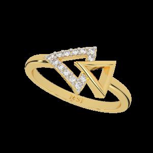 Fast Forward Gold Diamond Ring