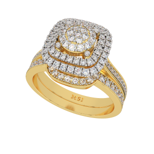 The Solitaire Song Gold Diamond Ring