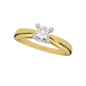 The Simply Solitaire Gold Diamond Solitaire Ring