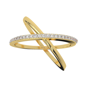 The Extra Feast Gold Diamond Ring