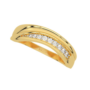 The Flavorsome Gold Diamond Ring