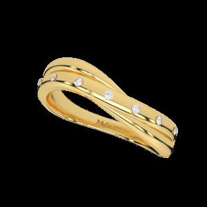 Stars Welkin Gold Diamond Ring