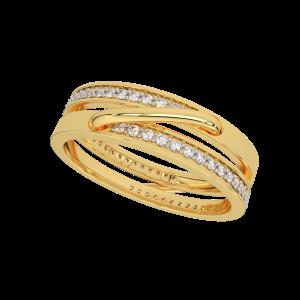 Hold Me High Gold Diamond Ring