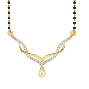 The Flow of Drop Mangalsutra