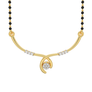 The Floral Play Mangalsutra