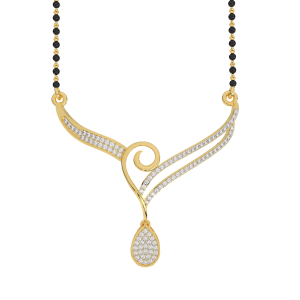 The Wings of Drop Mangalsutra