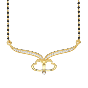 Two Hearts Mangalsutra