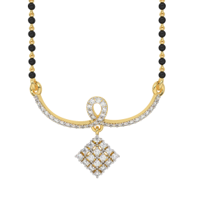 Gold & Glimmer Mangalsutra