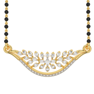The Floral Lush Mangalsutra