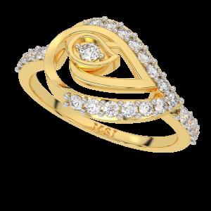 The Paisley Playfield Diamond Ring